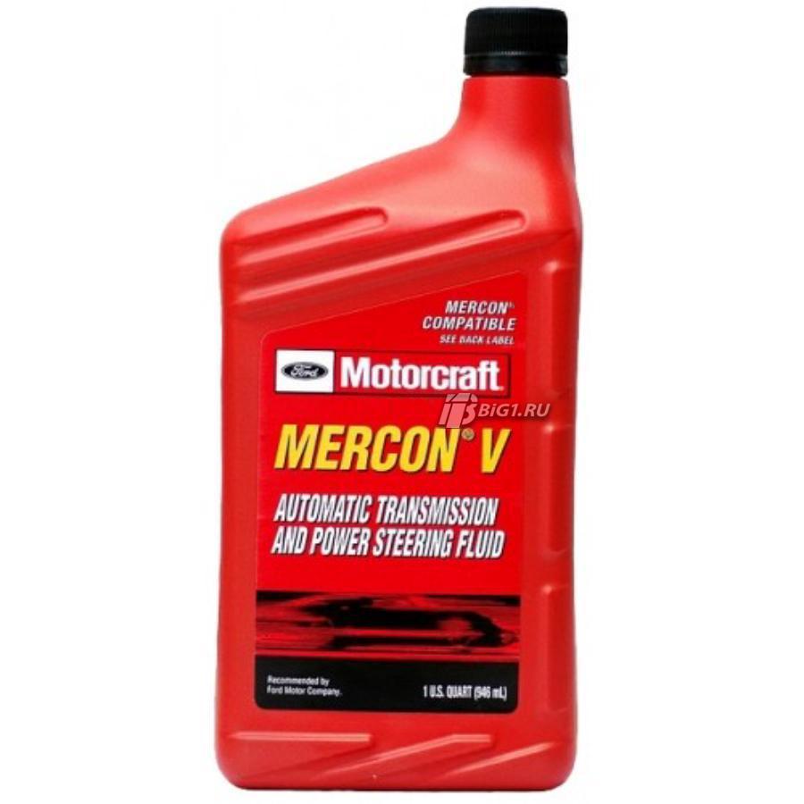 Масло трансмиссионное синтетическое Mercon V Automatic, 1л