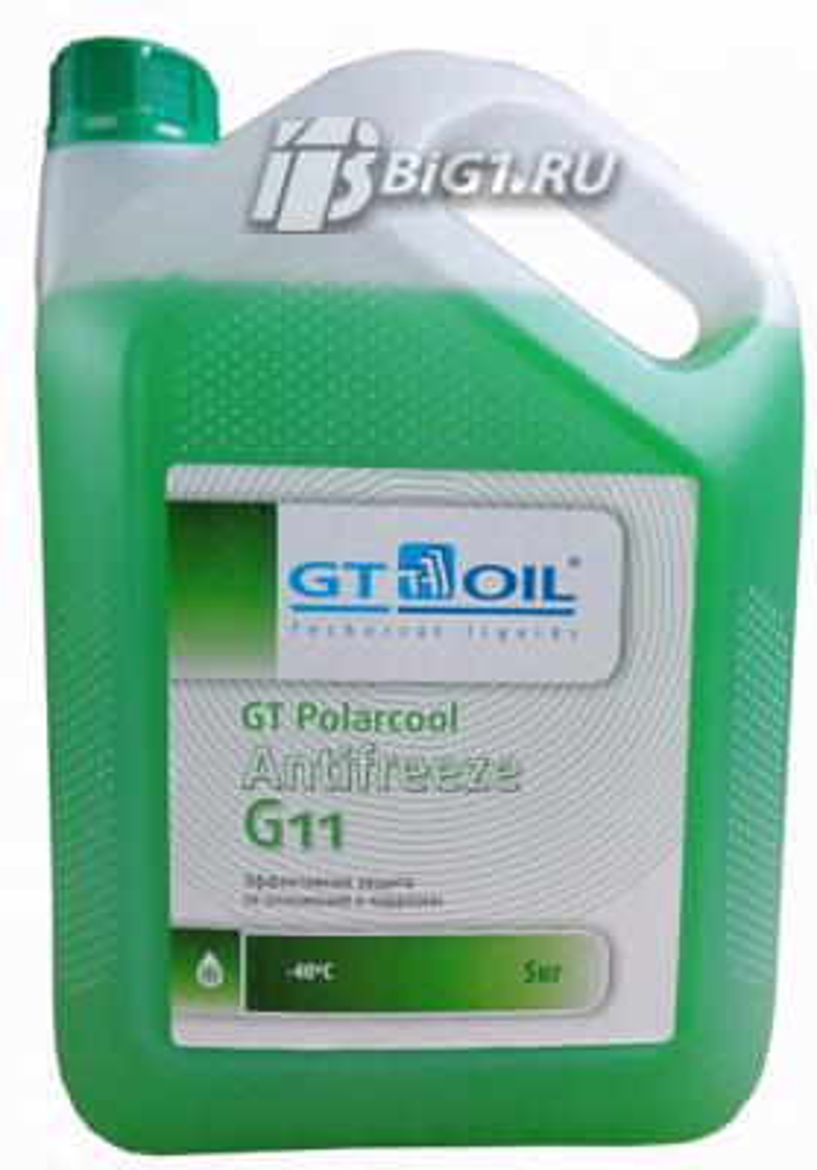 GT POLARCOOL G11 ЗЕЛЕНЫЙ 5Л