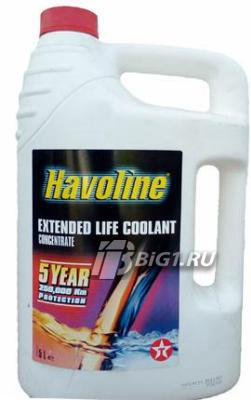 Антифриз-концентрат HAVOLINE XTENDED LIFE COOL CONCENTRATE, 5л