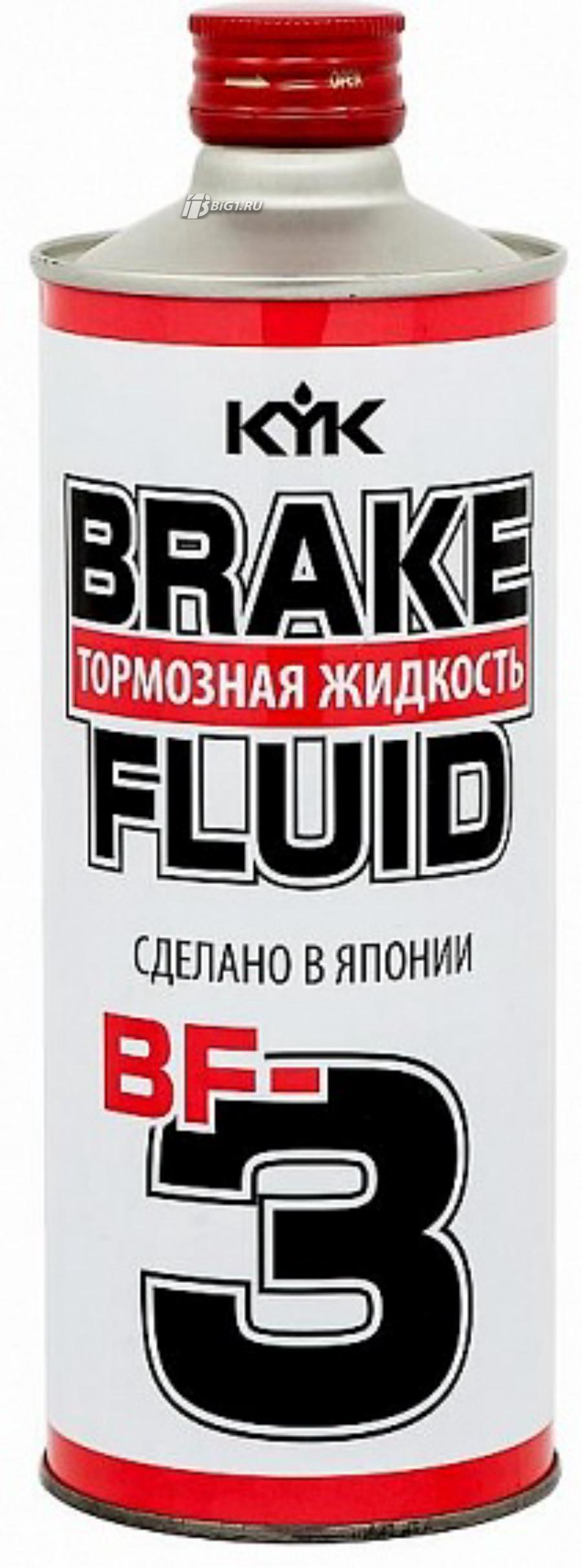 Жидкость тормозная dot 3, 'Brake Fluid BF-3', '0,5л