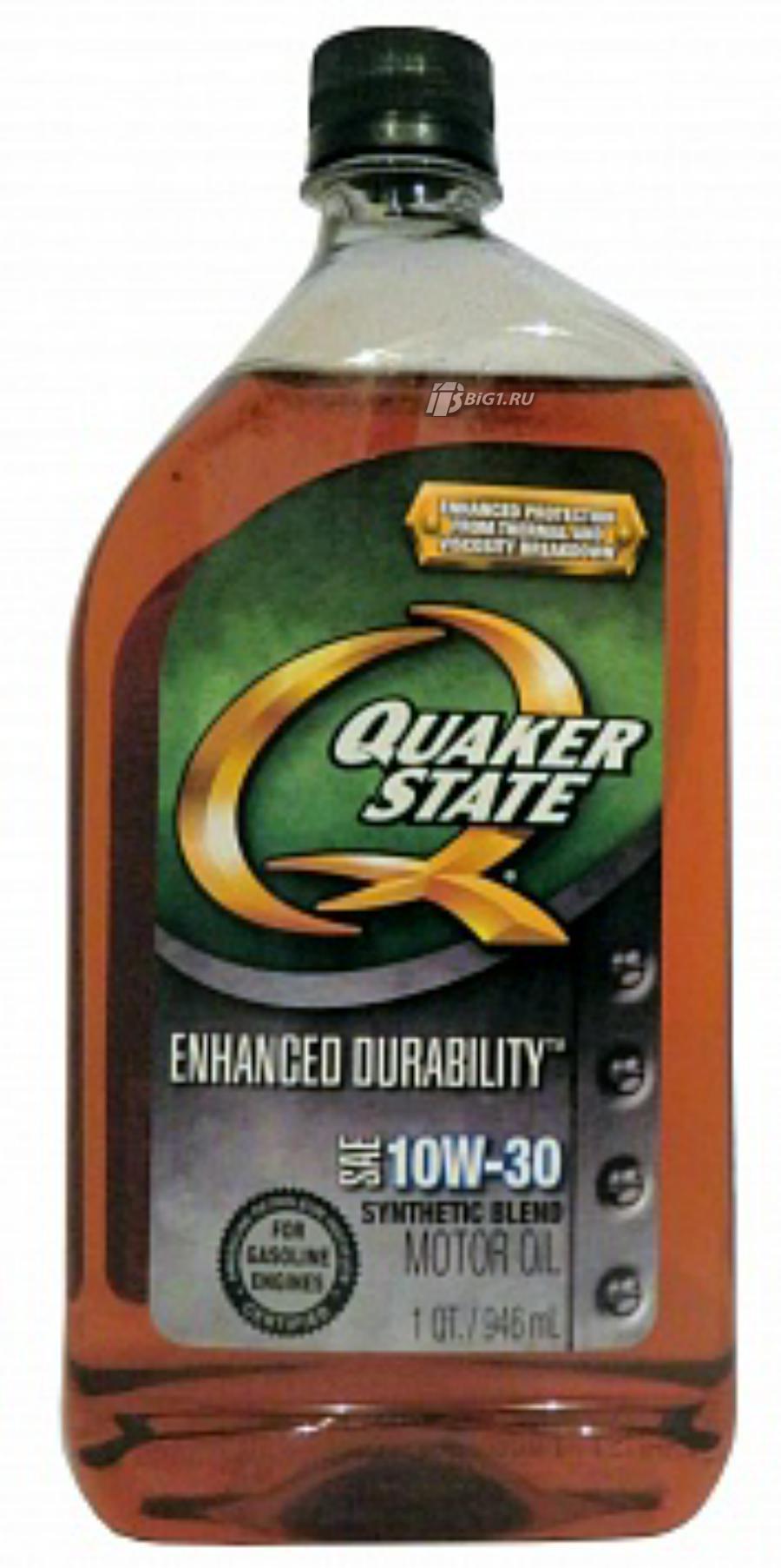 QUAKER STATE Enhanced Durability 10W-30
