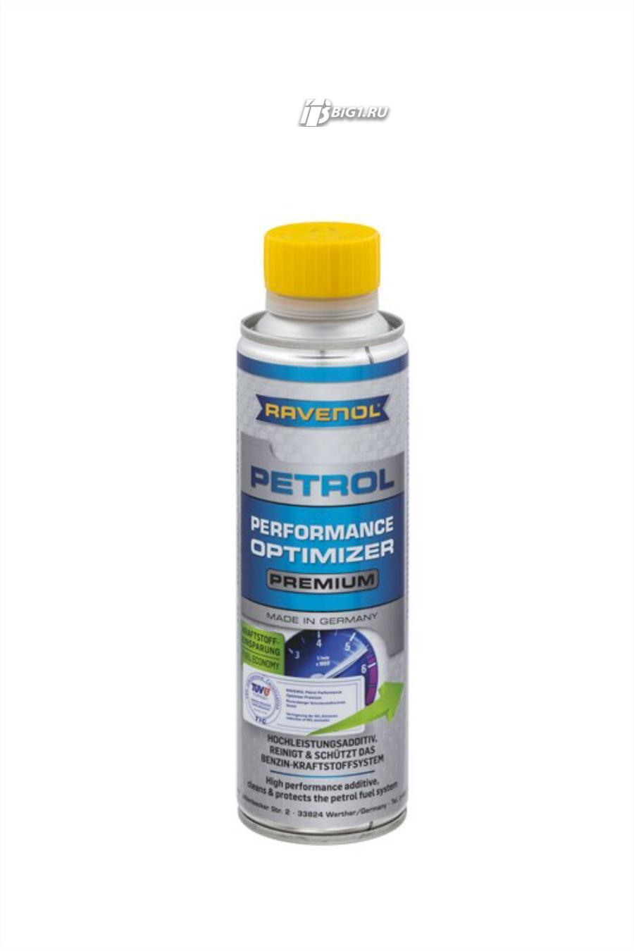 Комплексная присадка в бензин RAVENOL Petrol Performance Optimizer Premium (0,3 л)