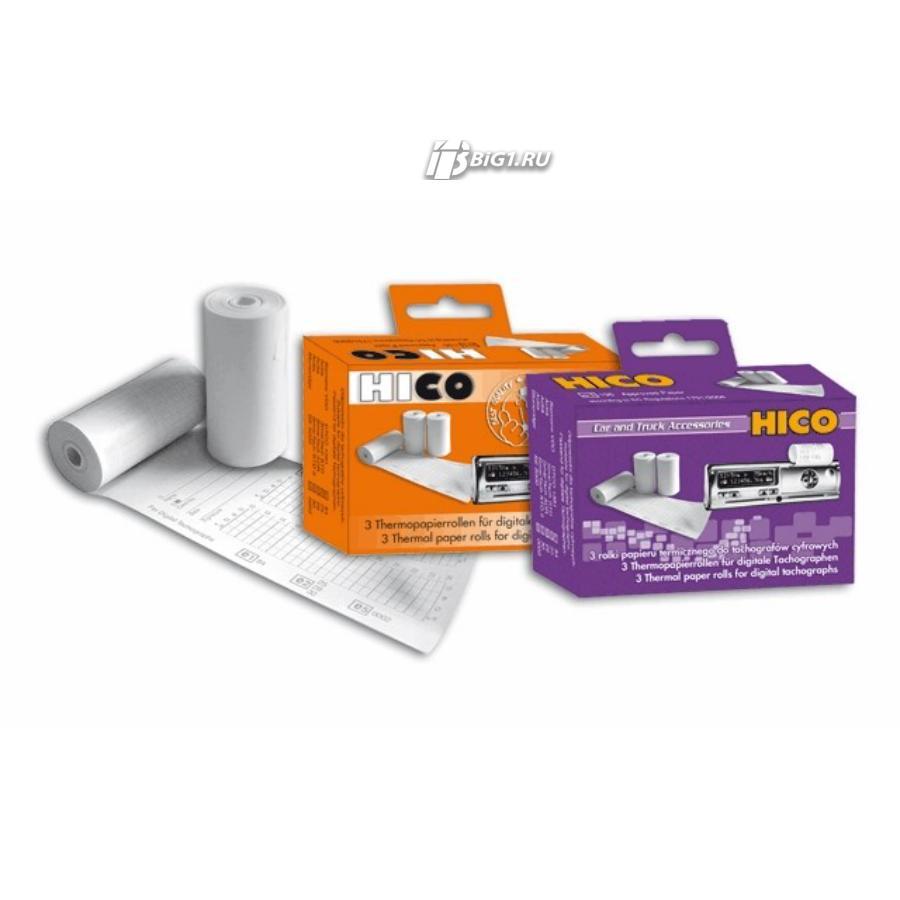 Термобумага для цифровых тахографов EEC