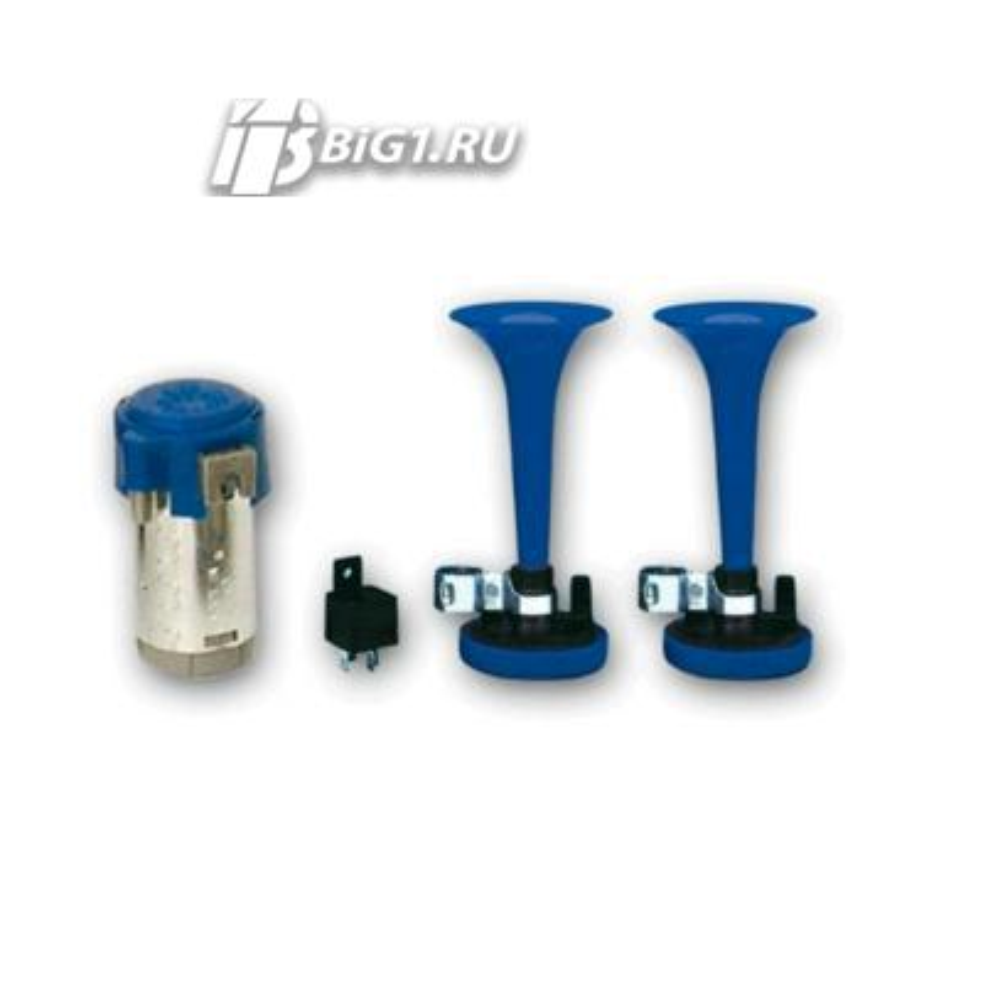 Фанфары 12V (Двойные с компрессором, пластик)