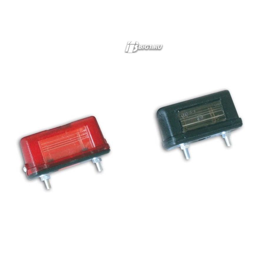 Лампа освещения номерного знака (Красная, малая)