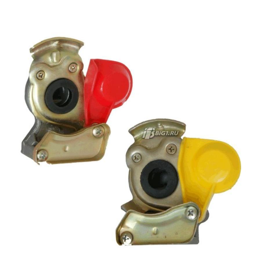 Пневматический фитинг (M22, желтый, без клапана)