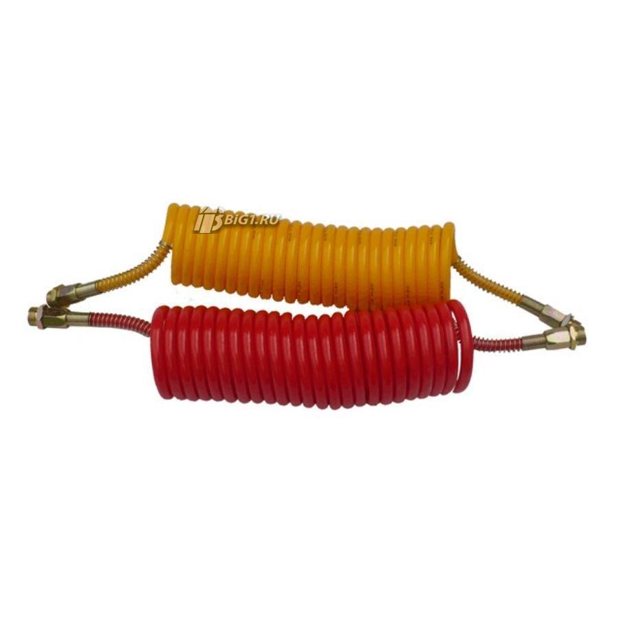 Спиральный шланг (Красный, M22)