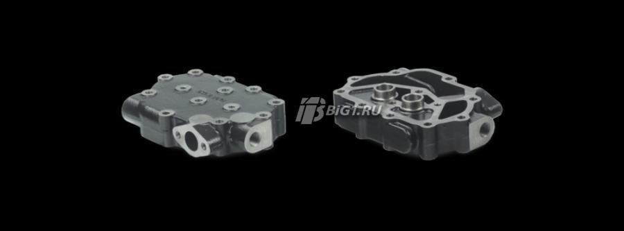 Головка цилиндра, пневматический компрессор