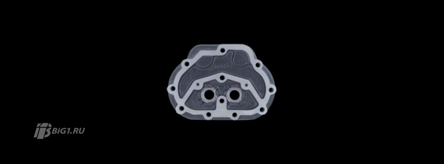 Клапанная крышка, пневматический компрессор