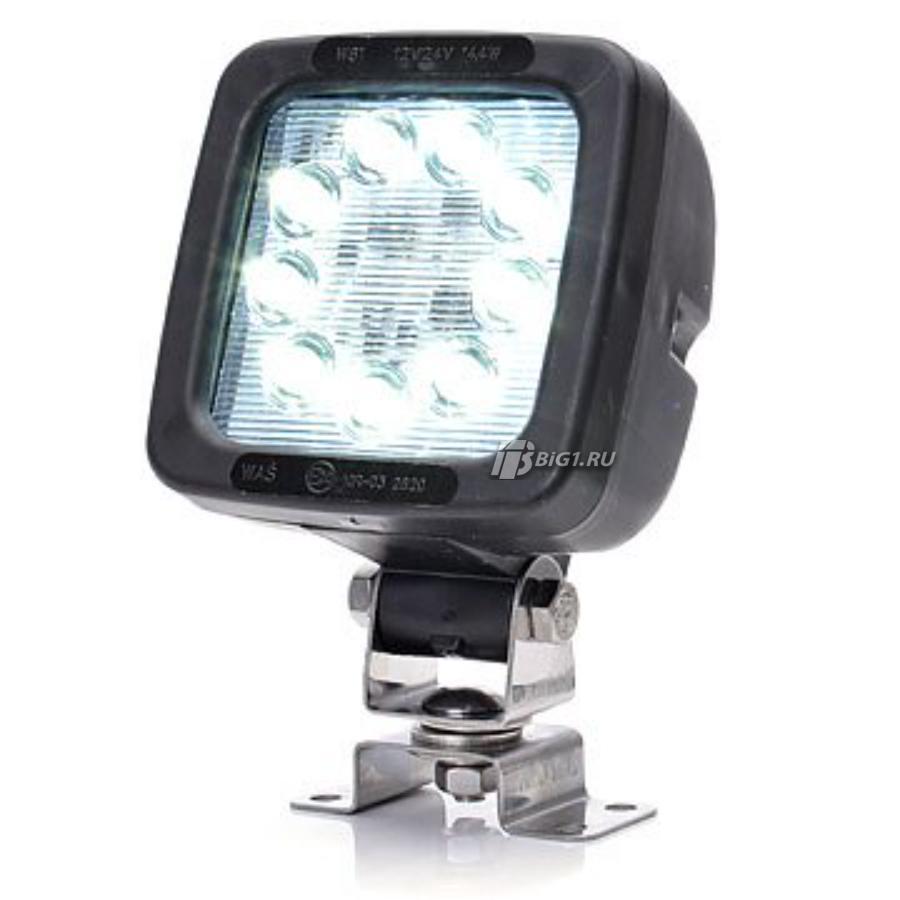 Фара рабочего света и заднего хода 9 LED 1300lm