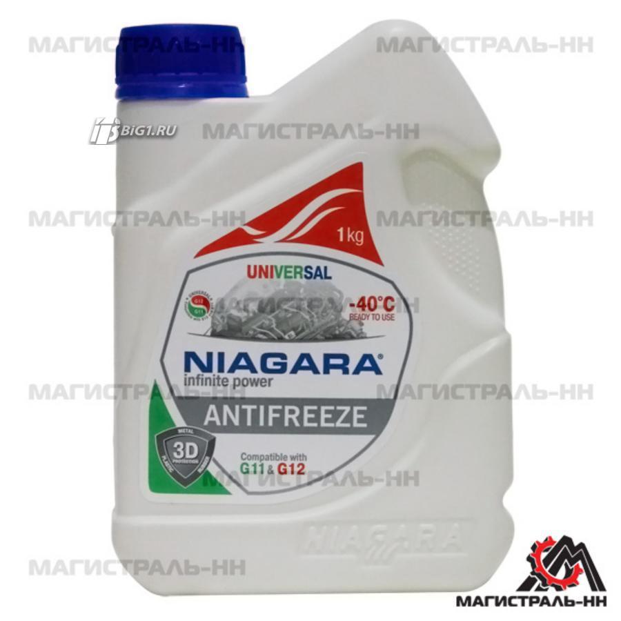 Антифриз Niagara Universal (универсальный), 1 л