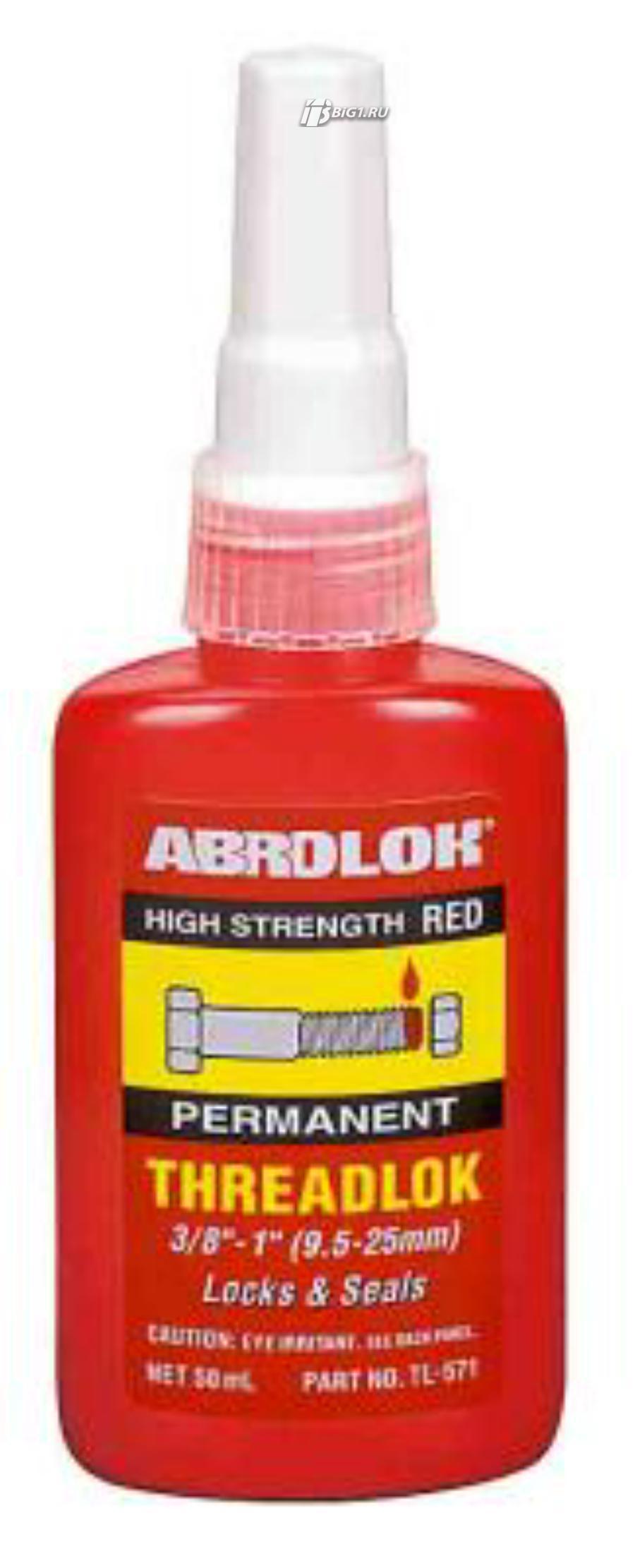 Abro фиксатор резьбовых соединений красный