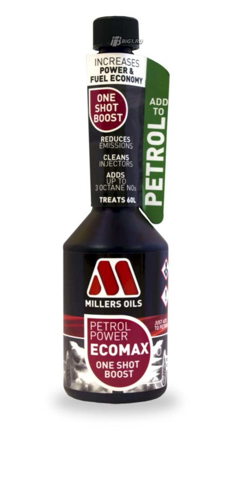 Цетан-корректор и присадка для топлива Petrol Power ECOMAX One Shot Boost