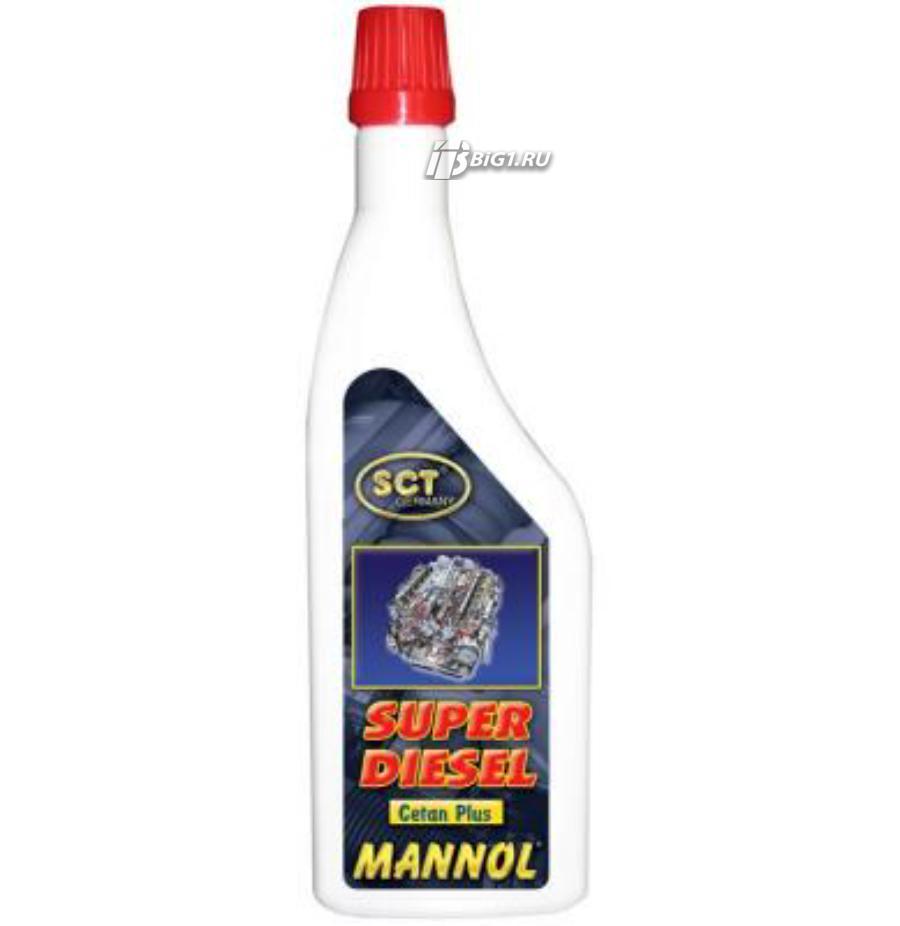 Тюнинговая добавка Mannol Super Diesel Cetan Plus