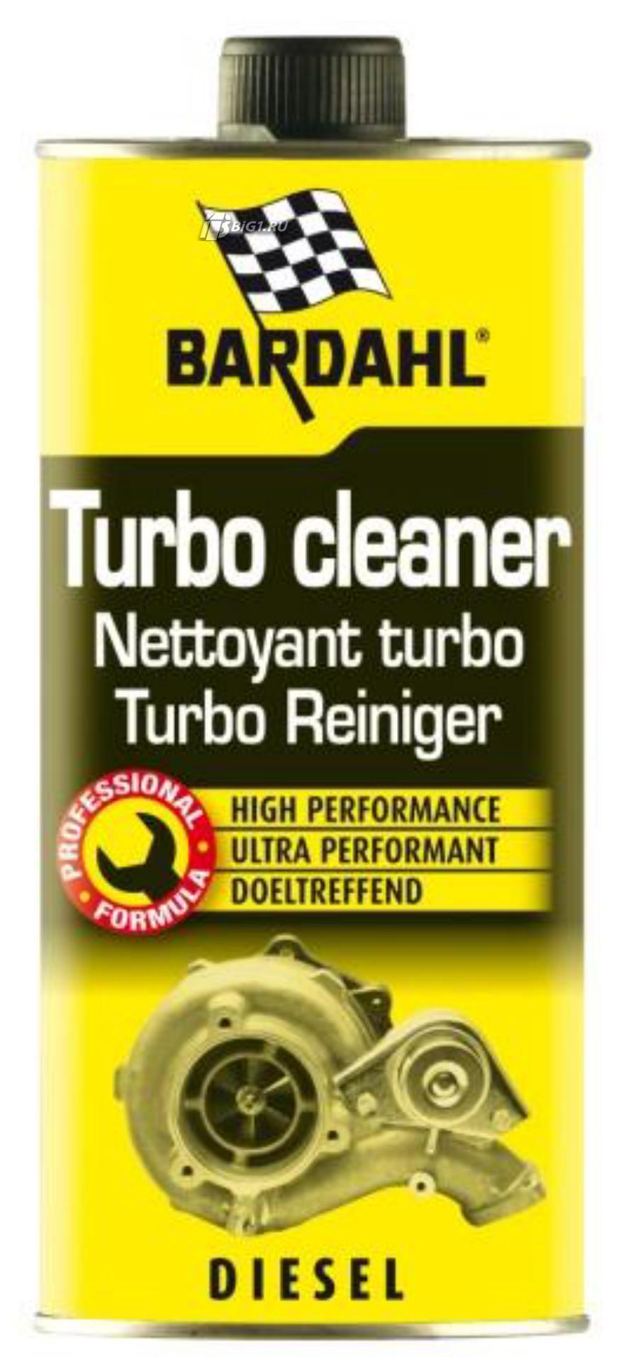 Добавка к дизельному топливу очиститель турбины Turbo Cleaner 1л