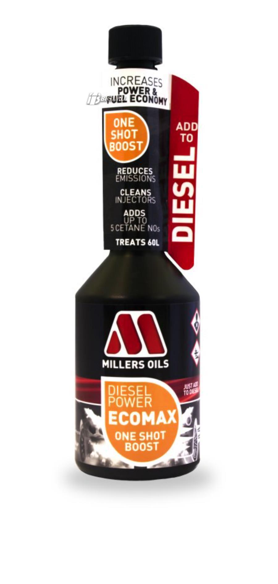 Октан-корректор и присадка для топлива Diesel Power ECOMAX One Shot Boost