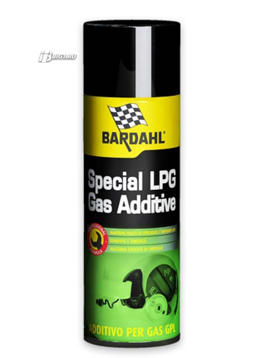 Добавка для машин, работающих на сжиженном газе Specal LPG Gas Additive, 120мл.