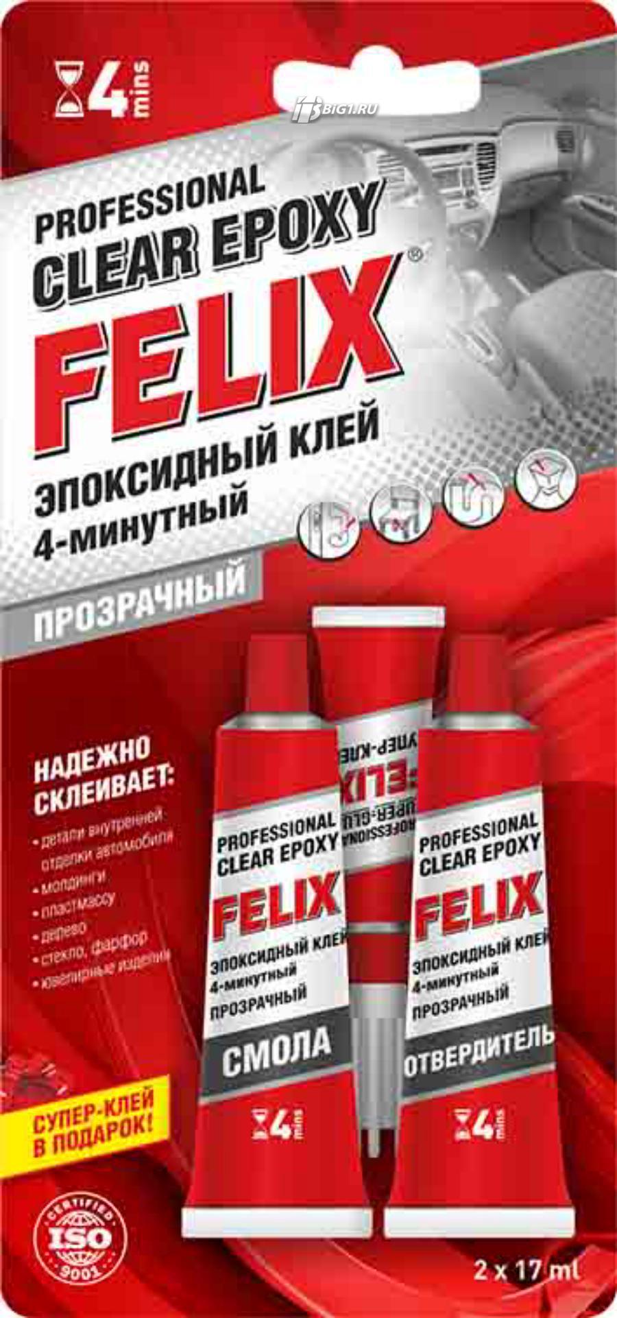 Клей эпоксидный Felix (прозрачный)