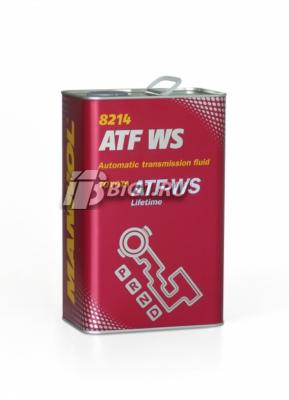 Масло  ATF WS Automatic Special 4L (metal)