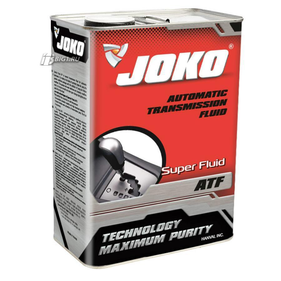 Трансмиссионное масло JOKO ATF Super Fluid 4л