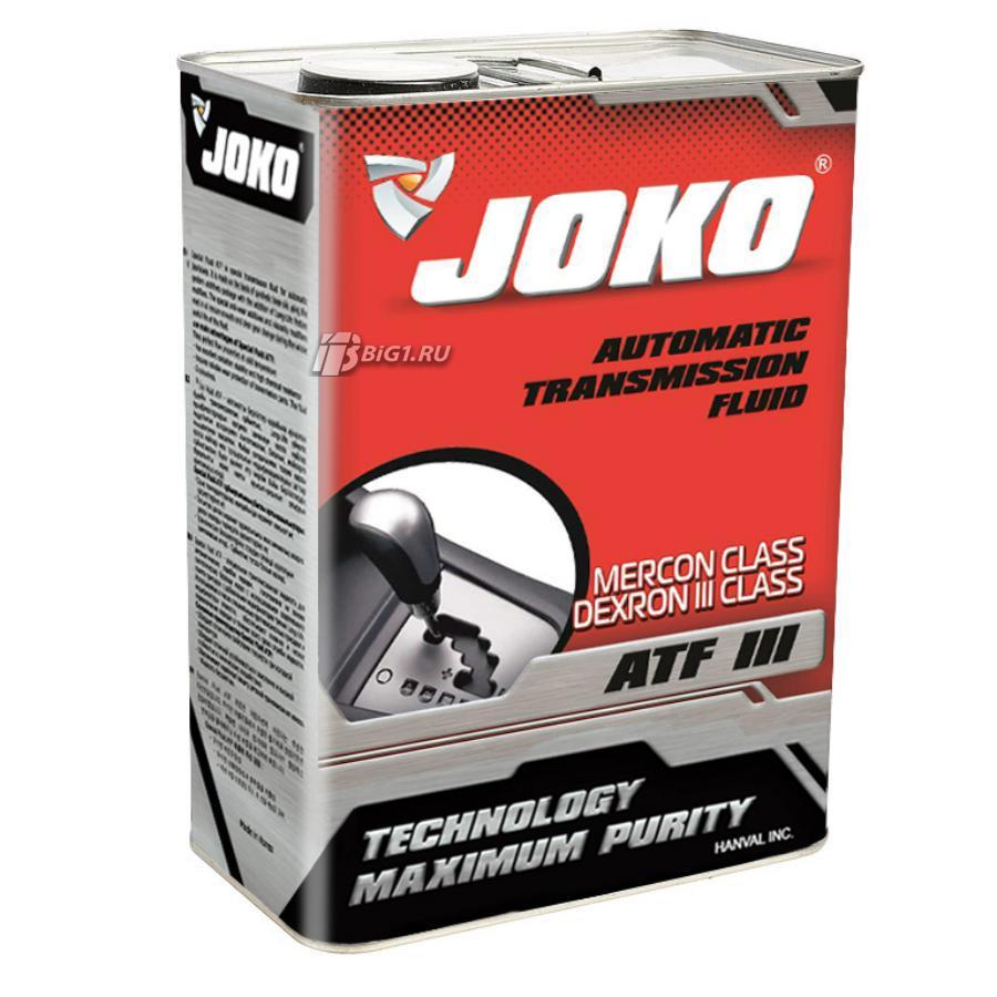 Трансмиссионное масло JOKO ATF-3  4л