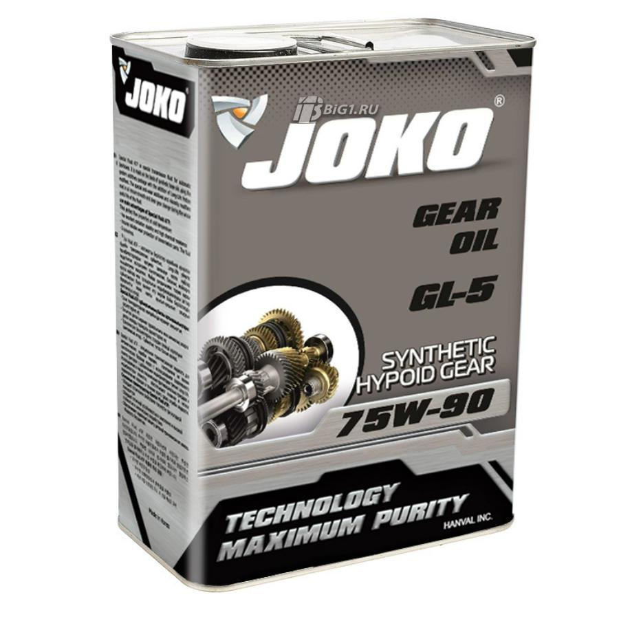 Трансмиссионное масло JOKO GL-5 75w-90 4л