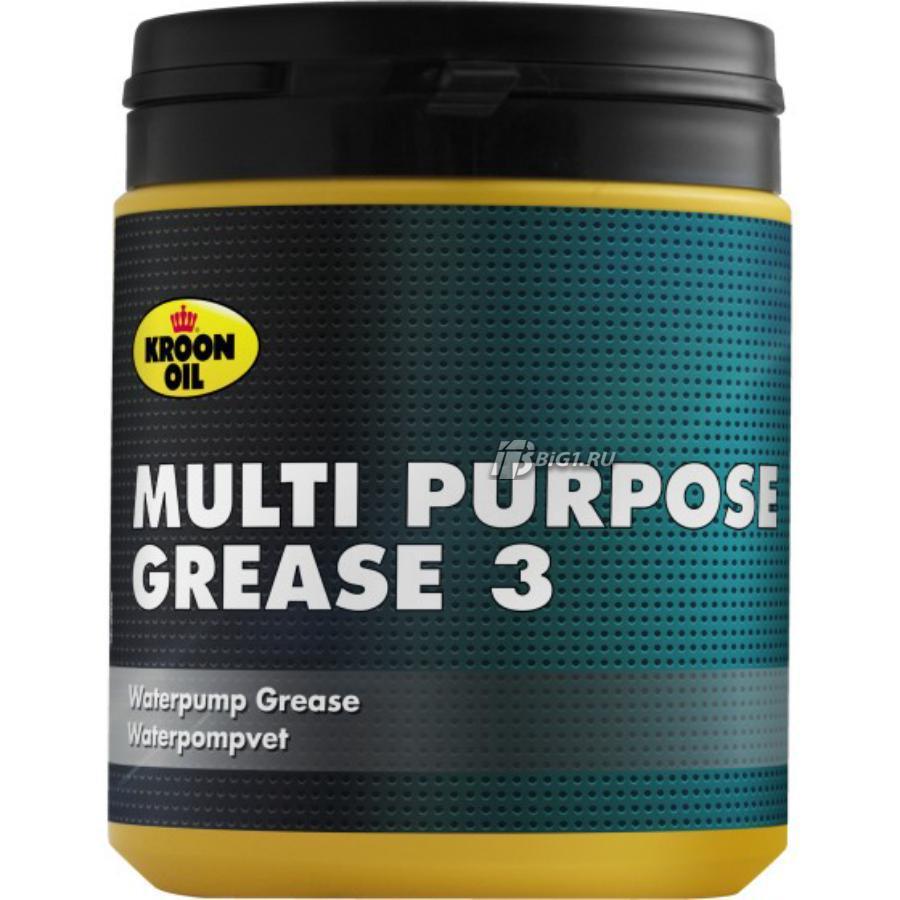 Multi Purpose Grease 3 — смазка, изготовленная на основе высокоочищенных базовых масел
