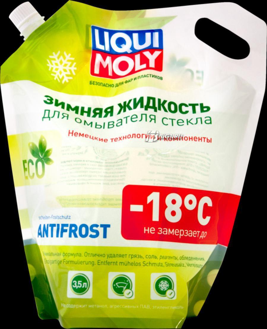 Зимняя жидкость для омывателя стекла ANTIFROST Scheibenfrostschutz -18 (дой-пак)