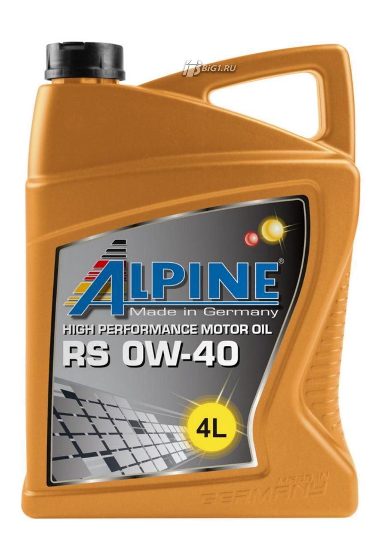 ALPINE RS 0W-40