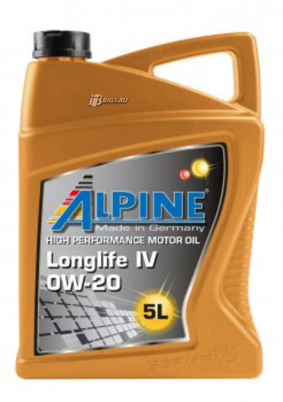 ALPINE Longlife IV 0W-20