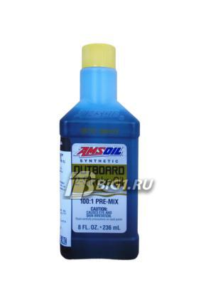 Моторное маcло синтетическое Outboard Synthetic 100:1 Pre-Mix 2-Stroke Oil, 236мл