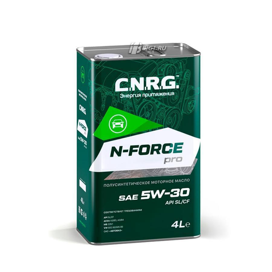 Масло моторное полусинтетическое N-Force Pro 5W-30, 4л