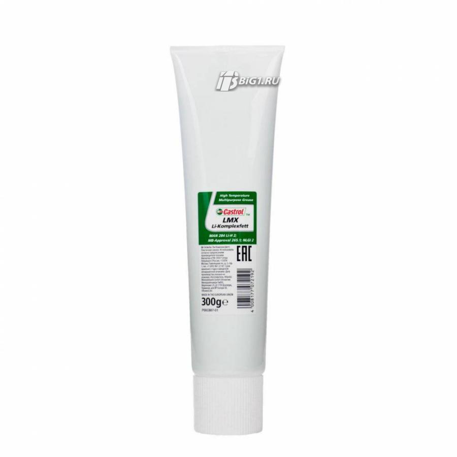 Термостабильная литиевая смазка LMX Li-Komplexfett 12 X 300 GM