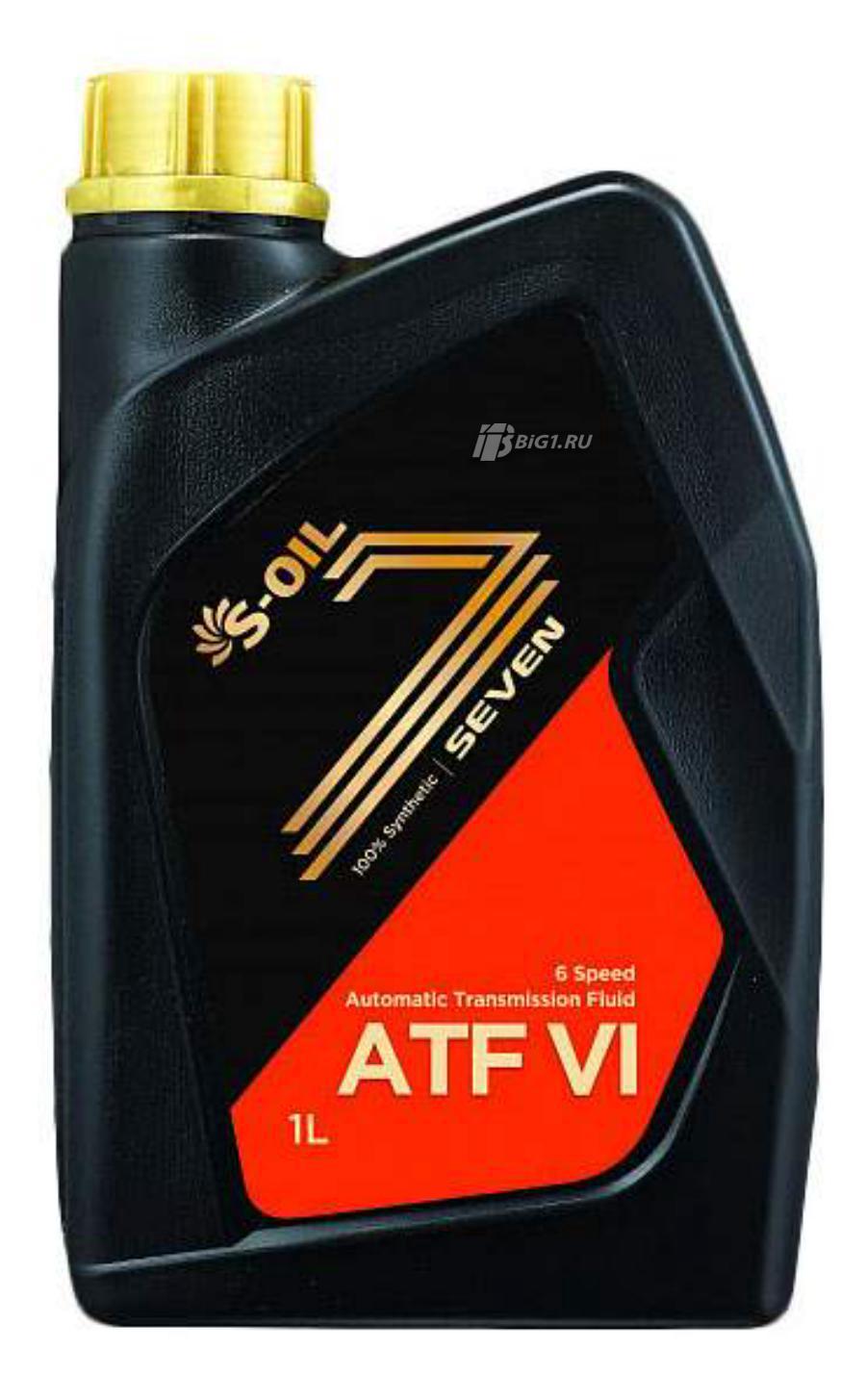 """Масло трансмиссионное синтетическое """"Seven ATF-VI"""", 1л"""