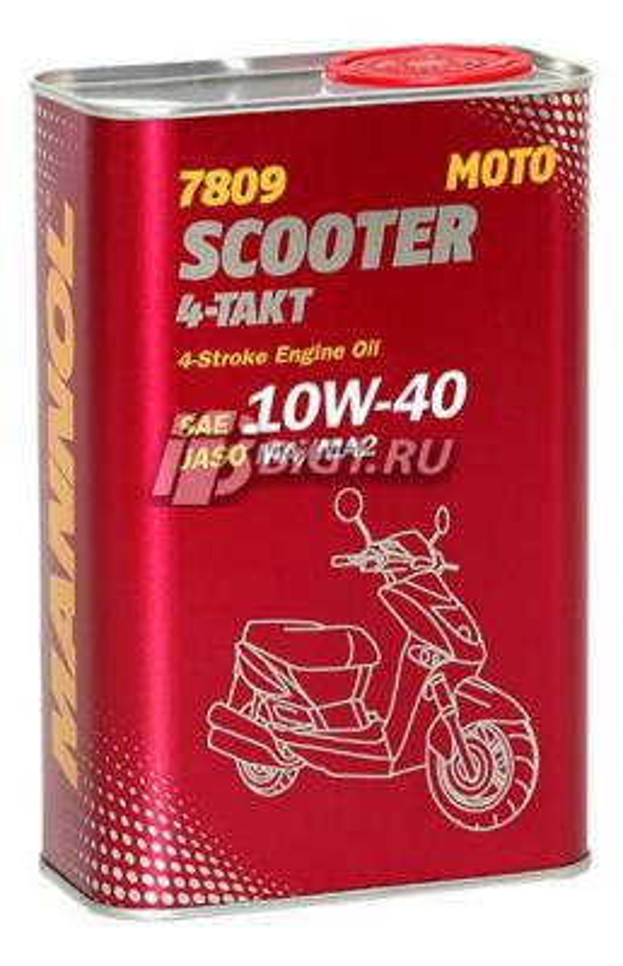 Масло моторное синтетическое 4-Takt Scooter 10W-40, 1л