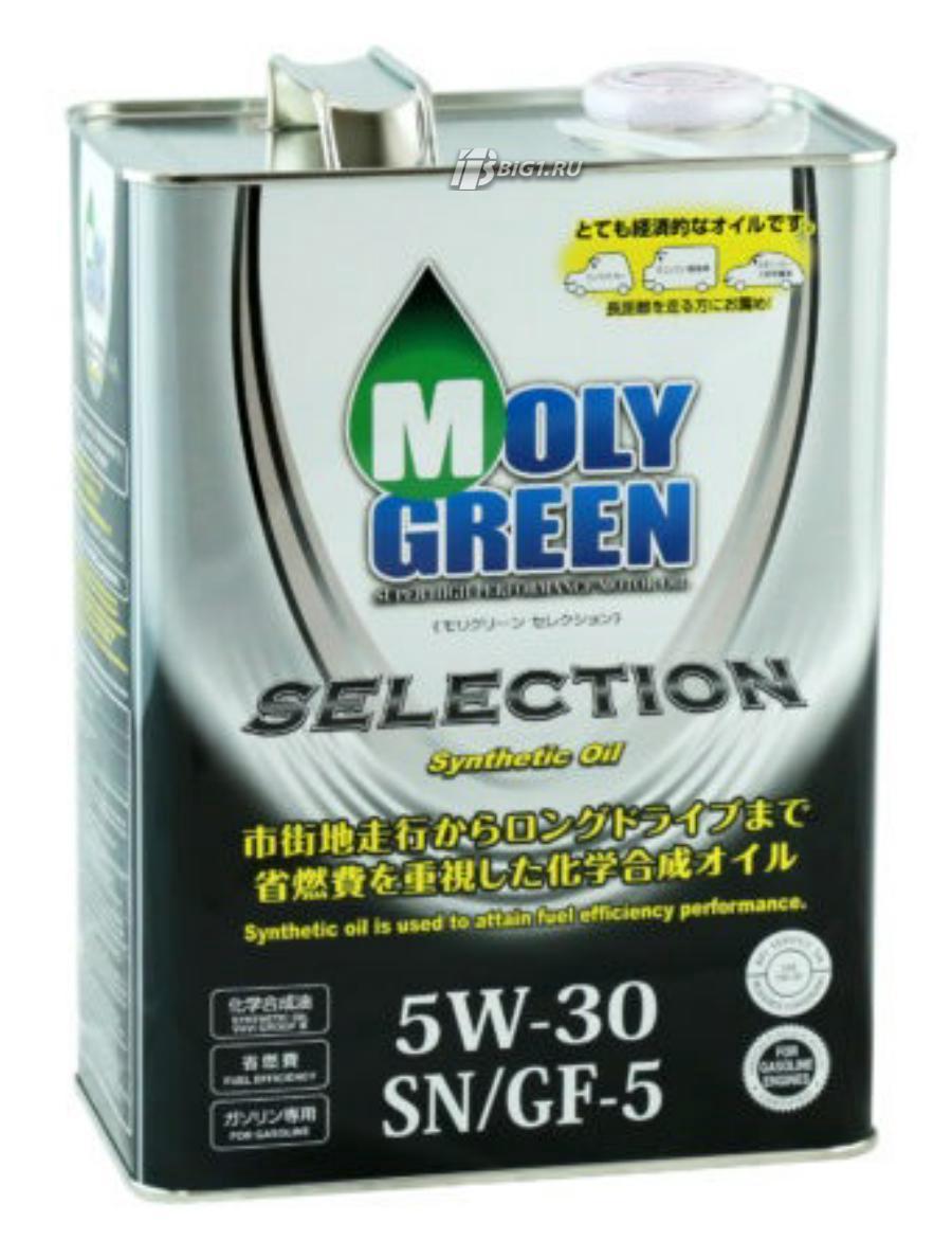 Масло моторное синтетическое Selection SN/GF-5 5W-30, 4л