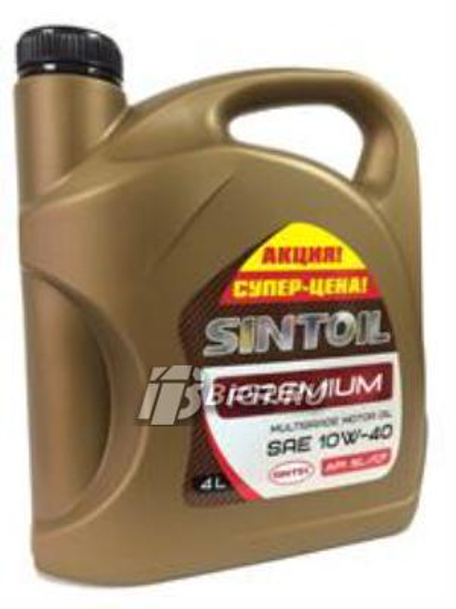 Масло моторное полусинтетическое Premium 10W-40, 4л