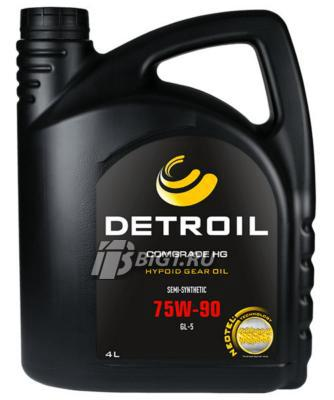 Масло DETROIL Comgrade HG 75W-90 GL-5 Semi-Synthetic (4л)