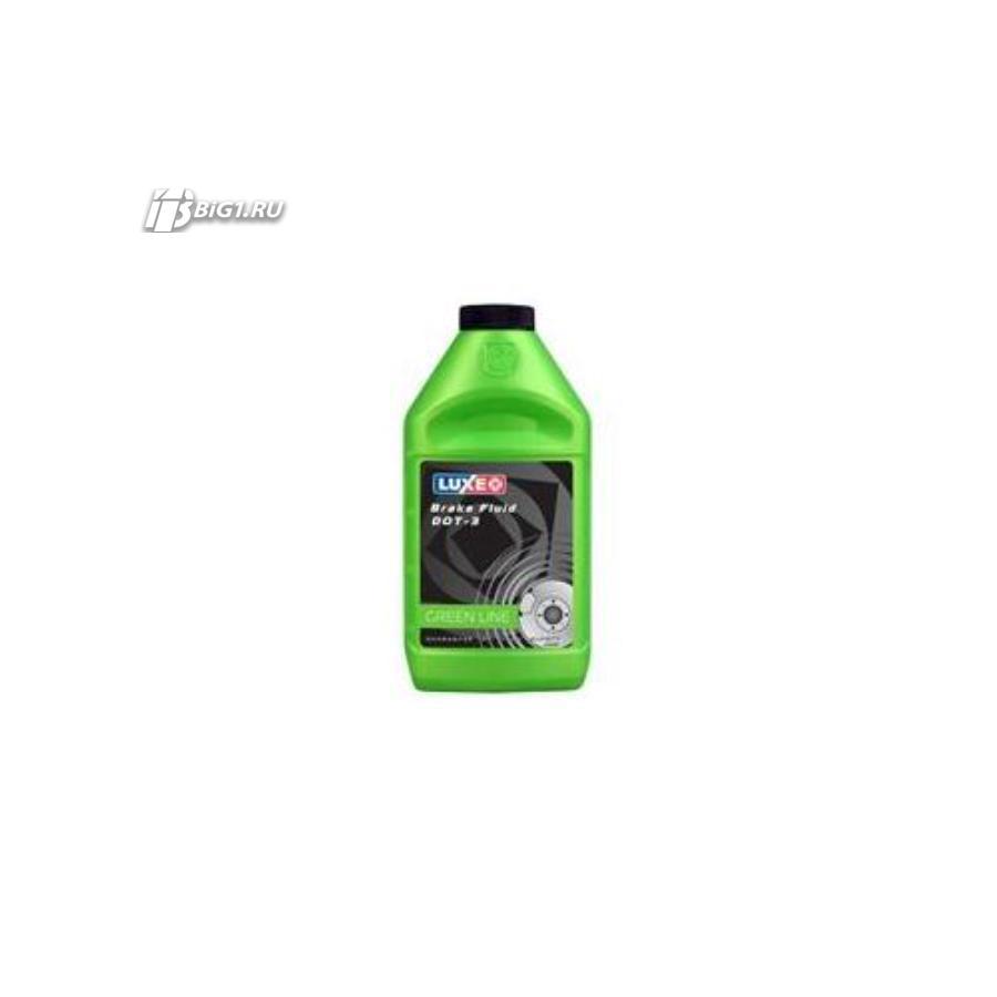 Жидкость тормозная dot 3, 'BRAKE FLUID', '0,455л