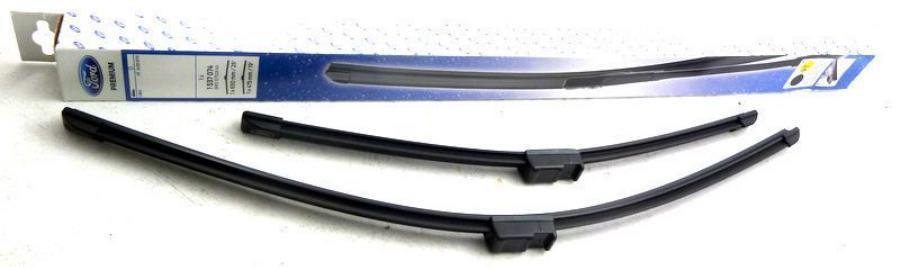 Комплект щеток стеклоочистителей 48 и 66 см (безарм. с бок.крепл.)