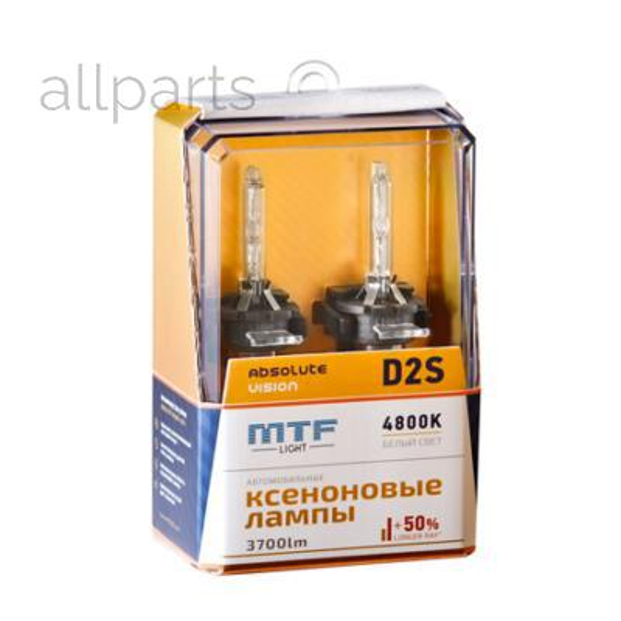 Ксеноновые лампы D2S Absolute Vision 3700lm