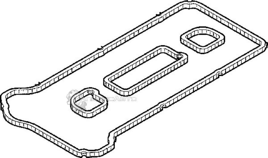 Прокладка клапанной крышки Ford/Mazda (к-кт)  1220025  пласт. крышка  001563  ELRING    (001562)
