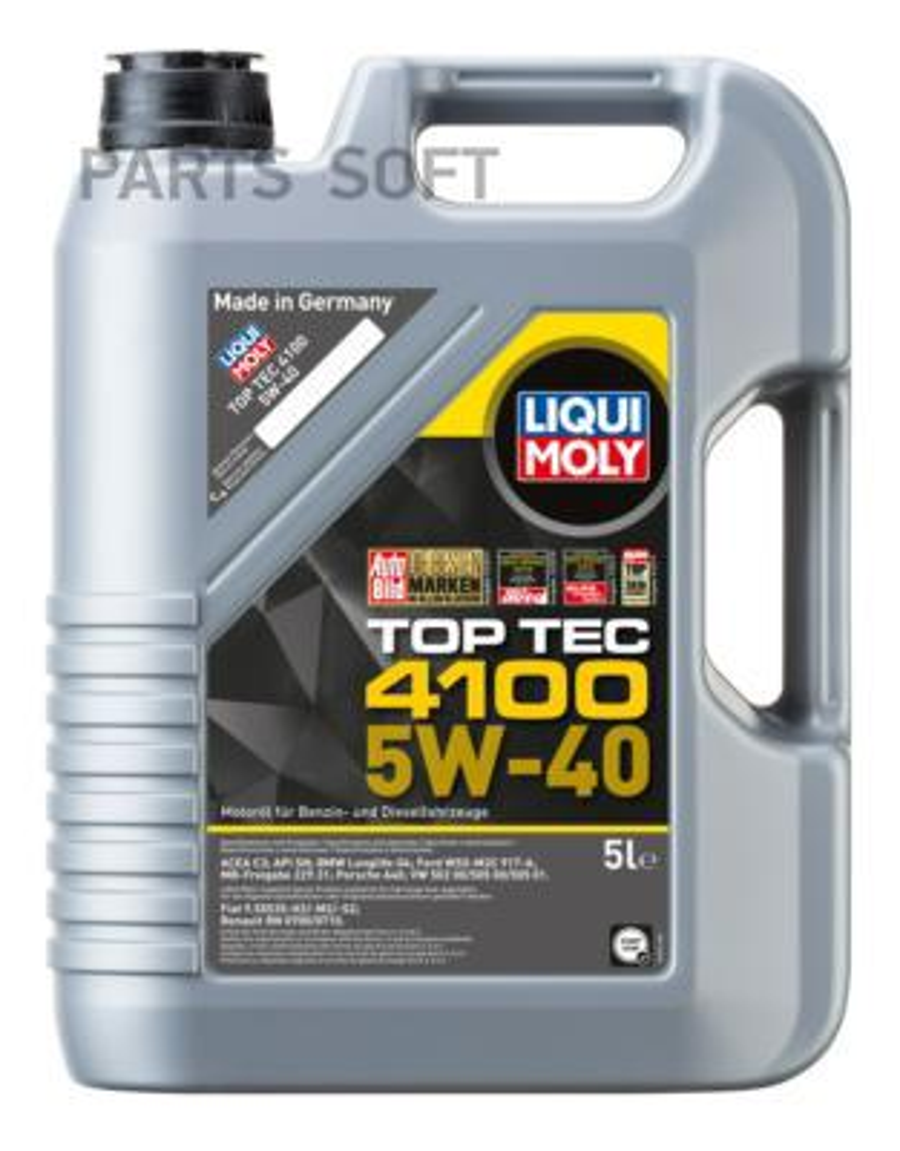 НС-синтетическое моторное масло Top Tec 4100 5W-40 5л