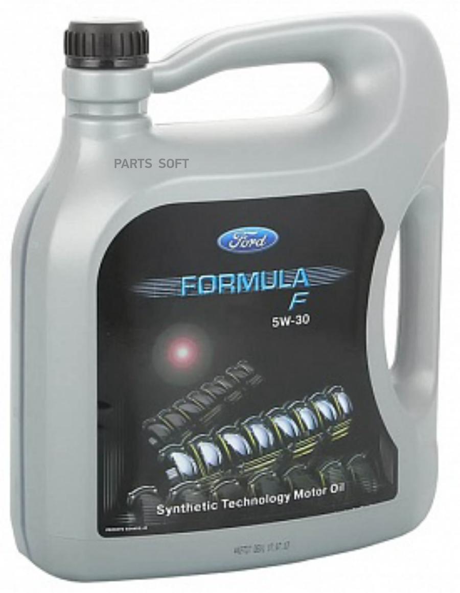 Масло моторное синтетическое Formula F 5W-30, 5л