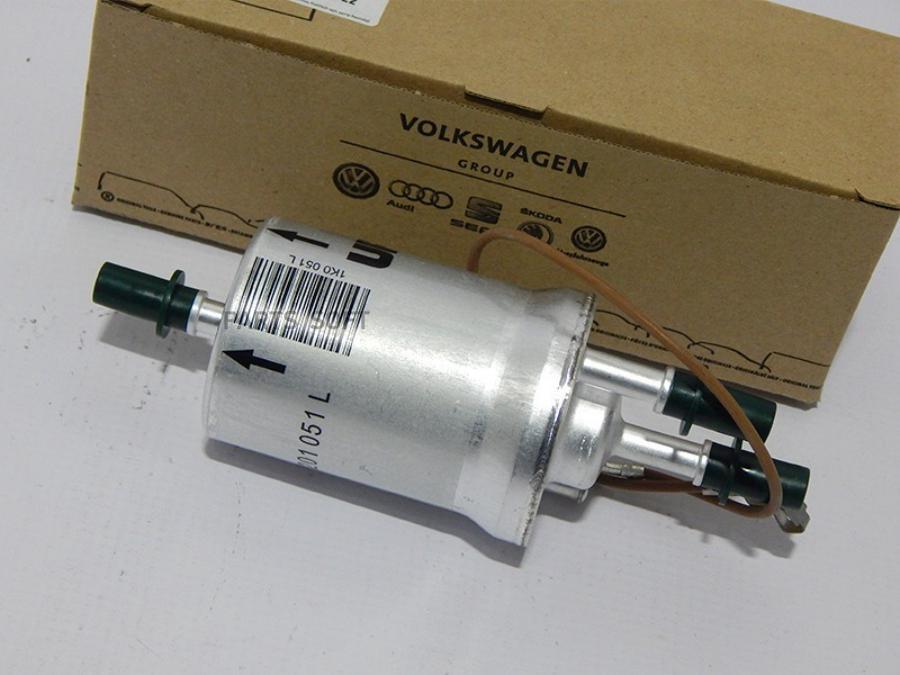 VAG volkswagen Фильтр топливный с регулятором давления для двигателя Total-Flex