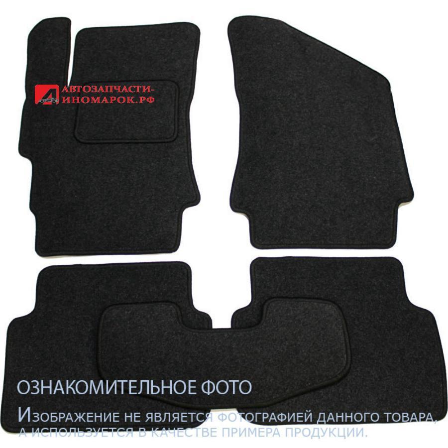 Коврики в салон PEUGEOT 107 3D, 5D 2005-, хб., 5 шт. текстиль