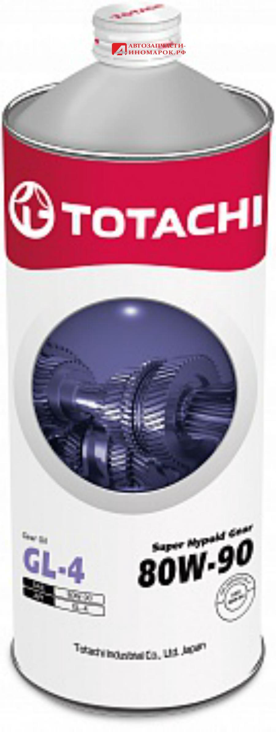Масло трансмиссионное полусинтетическое Super Hypoid Gear GL-4 80W-90, 1л