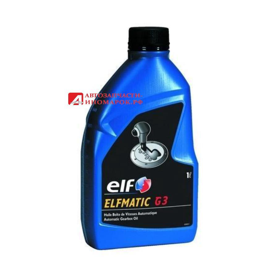 Масло трансмиссионное минеральное ELFMATIC G3, 1л