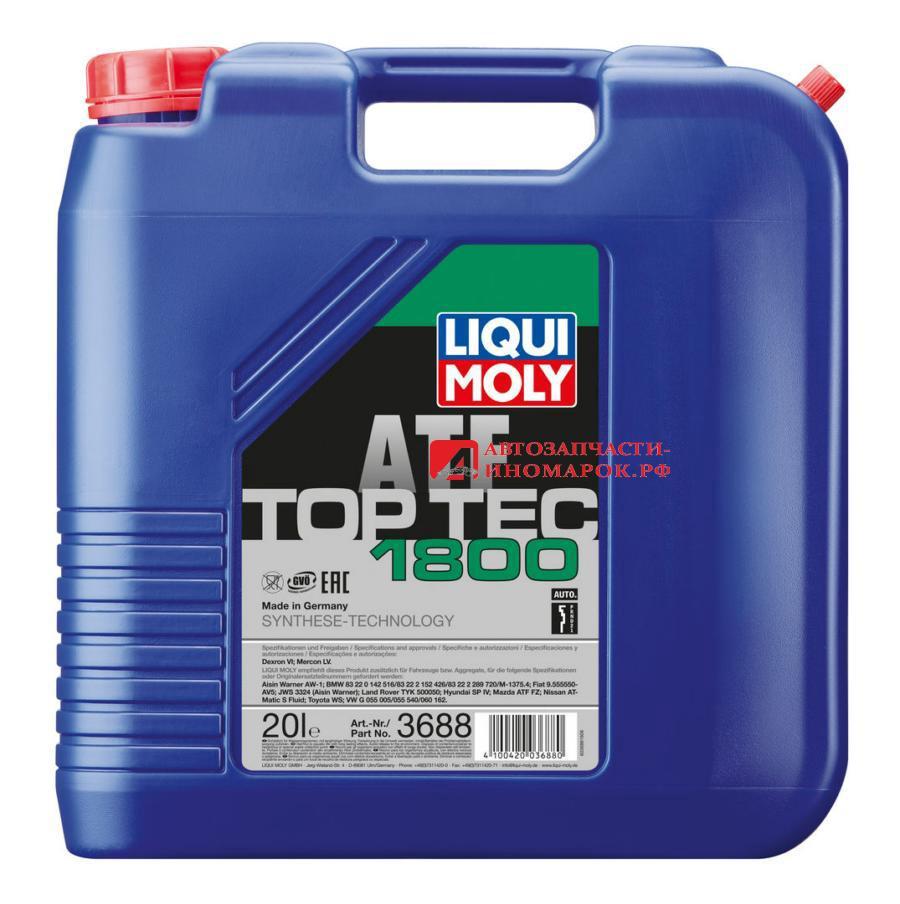 Масло трансмиссионное синтетическое Top Tec ATF 1800, 20л