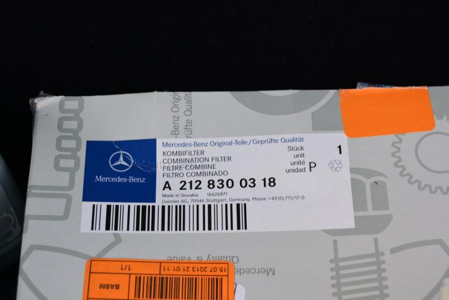 Mercedes -BENZ Фильтр салона